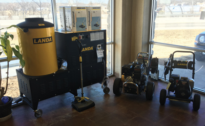 Landa equipment at Tulsa Cleaning Systems